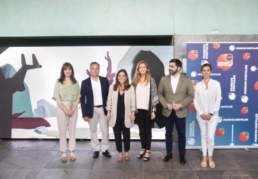 Inés Rey asegura que Mundos Dixitais será parte da Cidade das Tics que construirá o Goberno local
