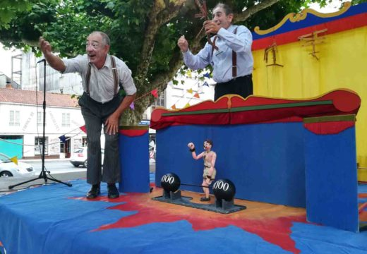 Homenaxe ao circo clásico en Cultura na rúa