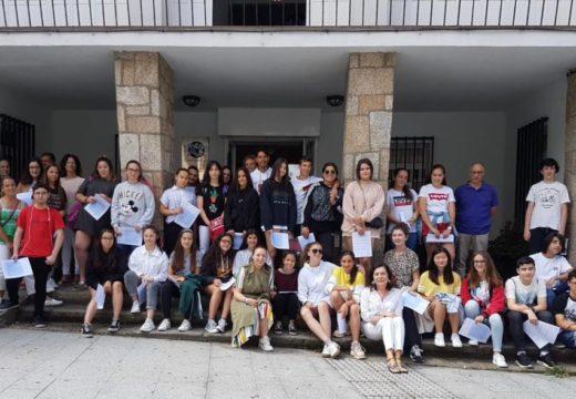 Política Social recoñece a experiencia e o traballo voluntario dos correspondentes xuvenís dos centros educativos de Betanzos