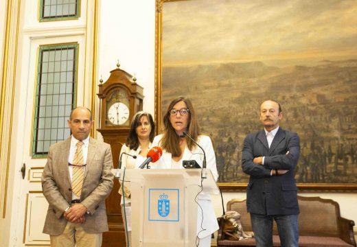 Inés Rey destaca na presentación da Feira do Libro o papel das bibliotecas municipais na vida cultural da cidade