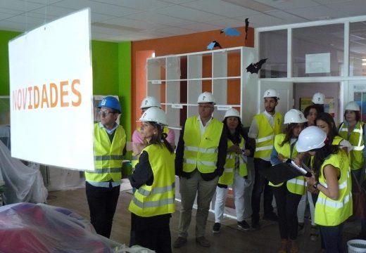 A Consellería de Educación inviste preto de 671.000 euros na rehabilitación enerxética do CEIP Felipe de Castro en Noia