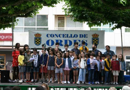 A alameda de Ordes, o mellor escenario para a audición de fin de curso da Escola Municipal de Música