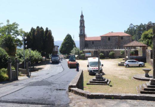 O Concello de Brión inviste case 85.000 euros de fondos propios na mellora do camiño de Bemil a Soutullos por Bastavaliños
