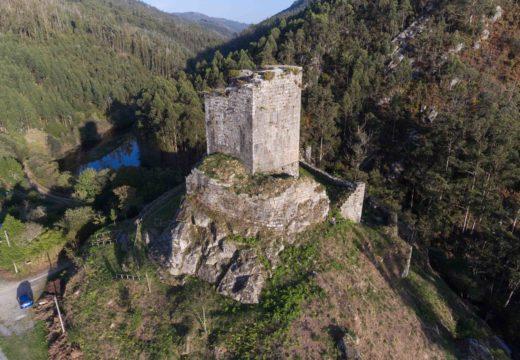 Adxudicada en 169.800 a última fase de consolidación do castelo de Naraío