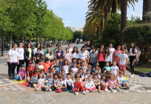 Setenta nenos e nenas participan na primeira quenda dos campamentos urbanos do Concello de Noia