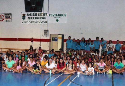 O Concello de Lousame clausura os seus campamentos de verán, nos que participaron 103 nenos e nenas de entre 6 e 16 anos