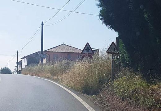 O Concello de Frades pídelle á Deputación da Coruña que axilice a roza das estradas provinciais que atravesan o municipio
