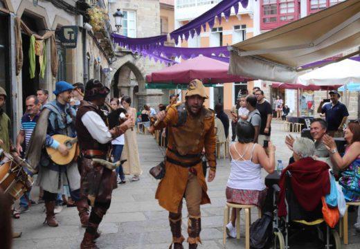 A Feira Medieval de Noia vai no bo camiño para conseguir os 60.000 visitantes previstos para esta edición
