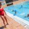 A piscina de San Sadurniño, camiño de batir as súas marcas a pesar do tempo revolto