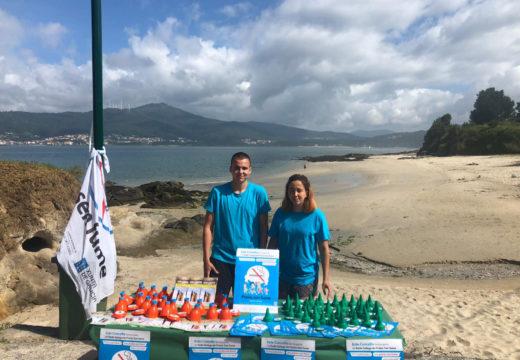 """O Concello de Noia promove hábitos saudables e a reciclaxe de aceite doméstico dentro da iniciativa """"Praias sen fume"""""""