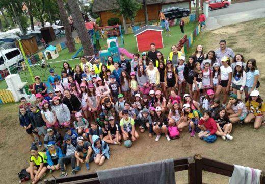 Conclúe o campamento de verán infantil no que participaron 80 nenas e nenos dos municipios de Boqueixón e Vedra