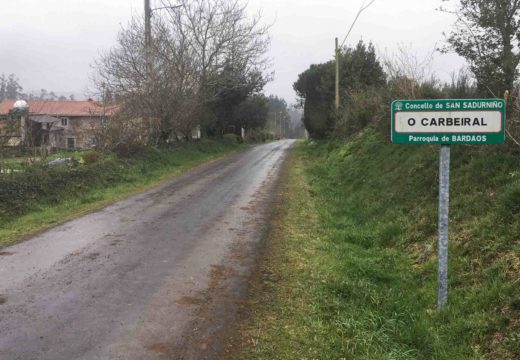 O Concello de San Sadurniño licita dunha tacada 324.000 euros en proxectos de mellora da rede viaria
