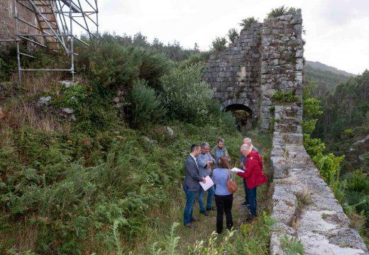 As obras no castelo de Naraío permitirán volver conquistar a torre