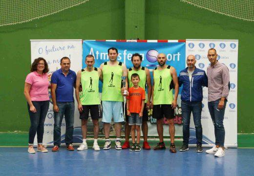 Cen Sabores álzase co trofeo do I Torneo de Básket 3×3