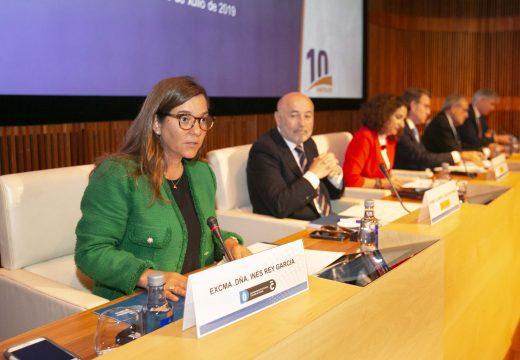 """Inés Rey asegura que a chamada """"economía azul"""" debe converterse nun foco de riqueza e benestar para A Coruña"""