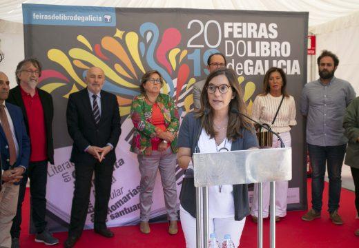 Inés Rey comprométese a impulsar desde o Concello a cidade como centro de referencia cultural de Galicia