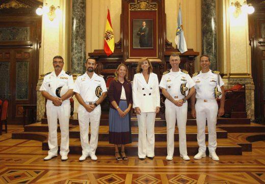 """Turismo convida a tripulación do veleiro brasileiro """"Cisne Branco"""" a participar na regata Tall Ships Races"""