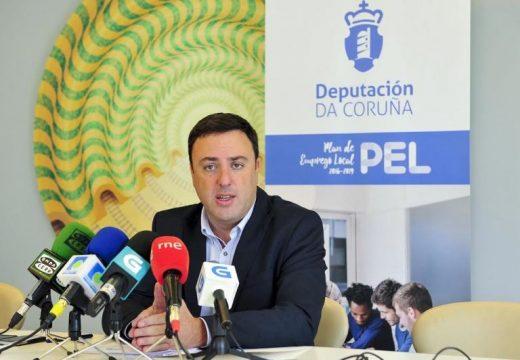 A Deputación da Coruña inviste máis de 720.000 euros no mantemento de 82 empregos en pemes da provincia creados co PEL