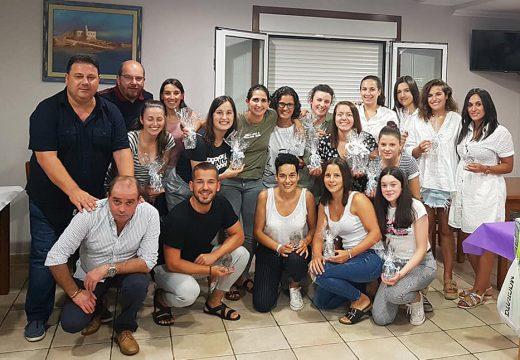 O Concello de Frades homenaxea á S.E. Abellá S.D.C. Feminino polo seu ascenso á Primeira División