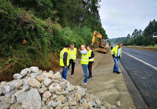 A Xunta inviste preto de 1m€ no reforzo de firme da autovía Ferrol-Vilalba no treito dos concellos de Narón, San Sadurniño, As Somozas e As Pontes de García Rodríguez