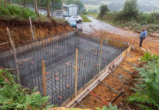 O Concello de San Sadurniño inicia as obras da nova potabilizadora do Camiño Arriba