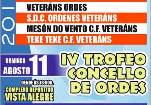Esta fin de semana, IV Trofeo San Roque e IV Trofeo Concello de Ordes