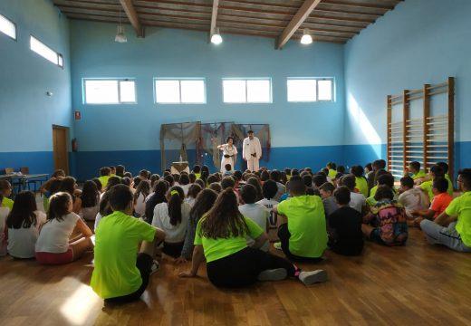 Arredor de 150 cativas e cativos asistiron á segunda sesión do programa Ler Conta Moito da Biblioteca Municipal de Boqueixón