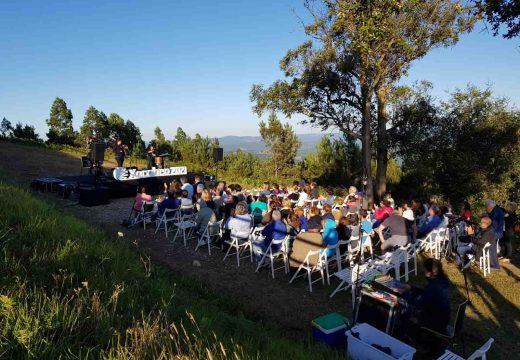 Excelente acollida ás actividades culturais desenvolvidas onte no Pico Sacro