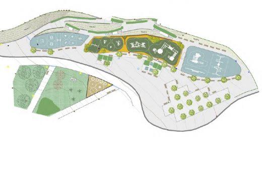 O concello ampliará e modernizará a zona de xogos do parque infantil dos Rosales