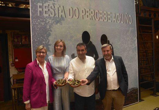 A 22ª edición da Festa do Percebe de Aguiño promociónase en Santiago