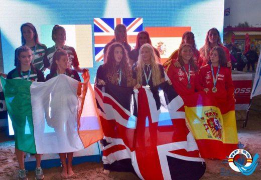 Grande actuación da socorrista Lara López no seu primeiro europeo