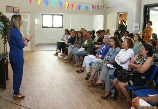 Encontro da secretaria xeral de Emprego coas persoas participantes no Galitex