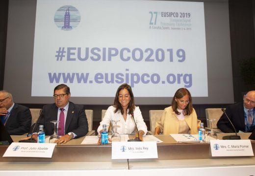 Rey destaca o éxito de asistencia e de investigacións que se analizarán no EUSIPCO 2019