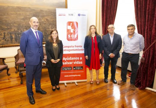 O concello colabora no programa SOS Respira para previr as mortes por atragoamentos na Coruña