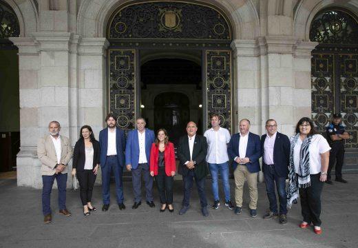 O Concello relanza a creación da área metropolitana xunto co resto de alcaldesas e alcaldes da bisbarra