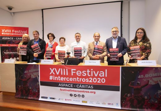 Celemín destaca os valores educativos e solidarios do XVIII Festival Intercentros