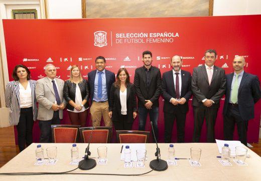 A Selección Española Feminina de Fútbol arrinca na Coruña o seu camiño cara á Eurocopa 2021