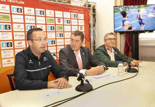 Coruña ten unha cita esta fin de semana co Campionato Español de Tríatlon distancia olímpica