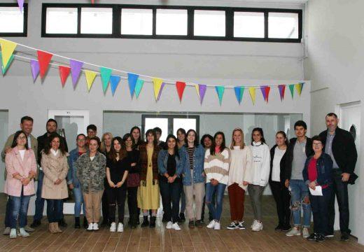 Tarxeta de embarque para os participantes do programa xuvenil Galeuropa da Mancomunidade de Ordes
