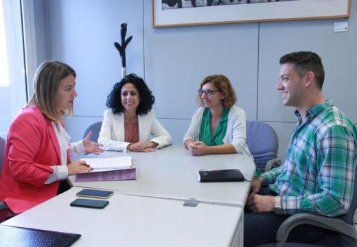 A Deputación ofrece apoio a AFAFES para converter a súa sede de Cee nun centro de día