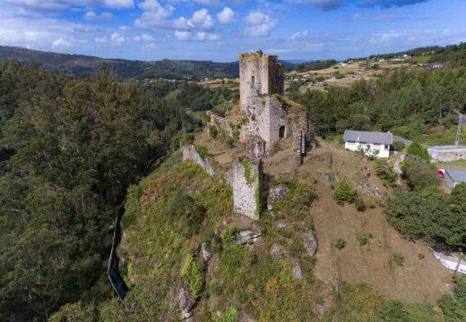 O castelo de Naraío empeza a mostrar de novo a súa mellor cara