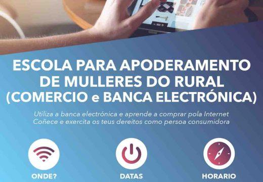 Obradoiro sobre comercio e banca electrónica para mulleres do rural