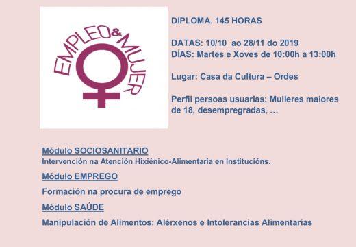 Curso de formación Fortalecemento da igualdade das mulleres na procura de emprego