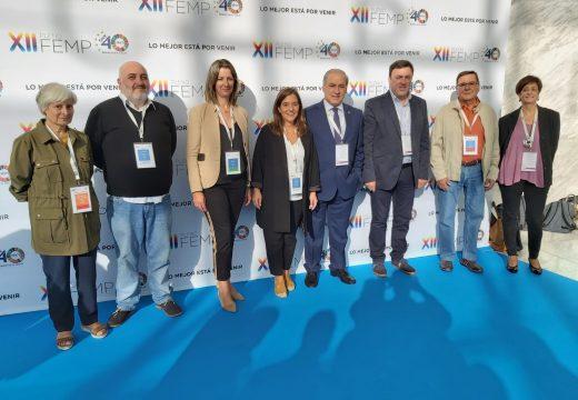 Inés Rey subliña o decisivo papel dos concellos na cohesión social de España