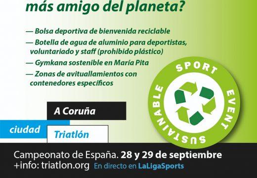 O Campionato da Coruña inicia a senda «verde» do tríatlon español