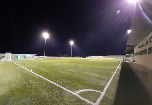 Nova iluminación para as instalacións deportivas de Vista Alegre