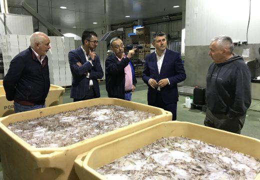 Mar apoia a nove pemes de de transformación de produtos do mar da comarca do Barbanza cunha liña de axudas de máis de 645.000€
