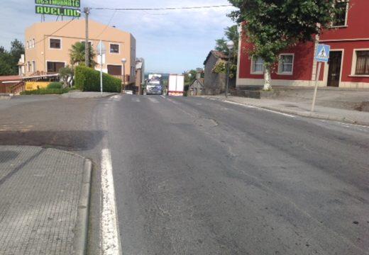 A piques de adxudicarse as obras de rehabilitación da estrada Ordes-Cerceda ao seu paso polo Mesón do Vento