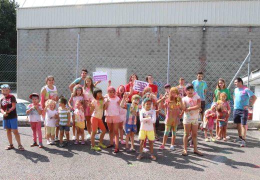 Pecha a Ludoteca de Verán do Concello de Lousame cunha gran festa na que participaron 35 nenos e nenas