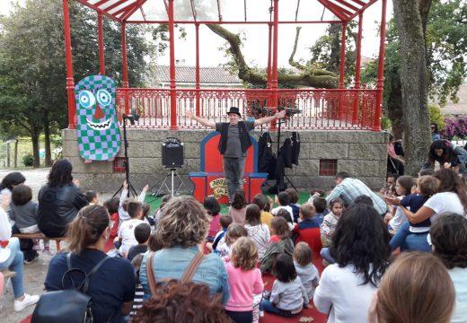 Gran participación no VI Festival Monecadas de Brión a pesar do mal tempo